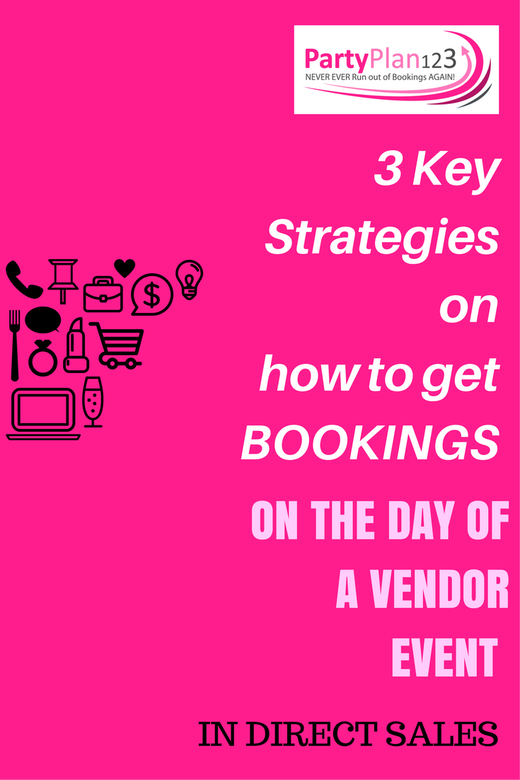 3 Key Strategies On How To Get Bookings On The Day Of A Vendor