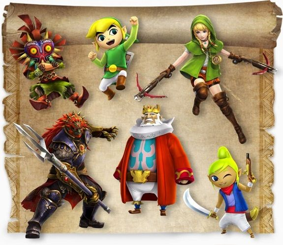 Hyrule Warriors Legends All New Characters And Ganondorf