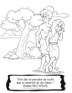 Adao E Eva Com Imagens Adao E Eva Desenhos Biblicos Criancas