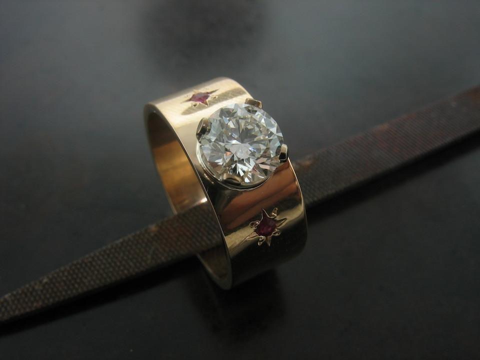 Barbara's Ring – Jelena Behrend Studio