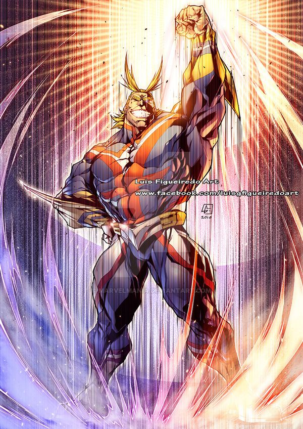 PLUS ULTRA ALMIGHT full power by marvelmania Hero, My hero