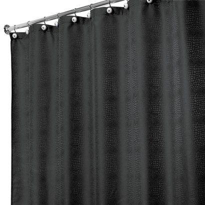 My New Shower Curtain Gator Interdesign Lizagator Shower Curtain