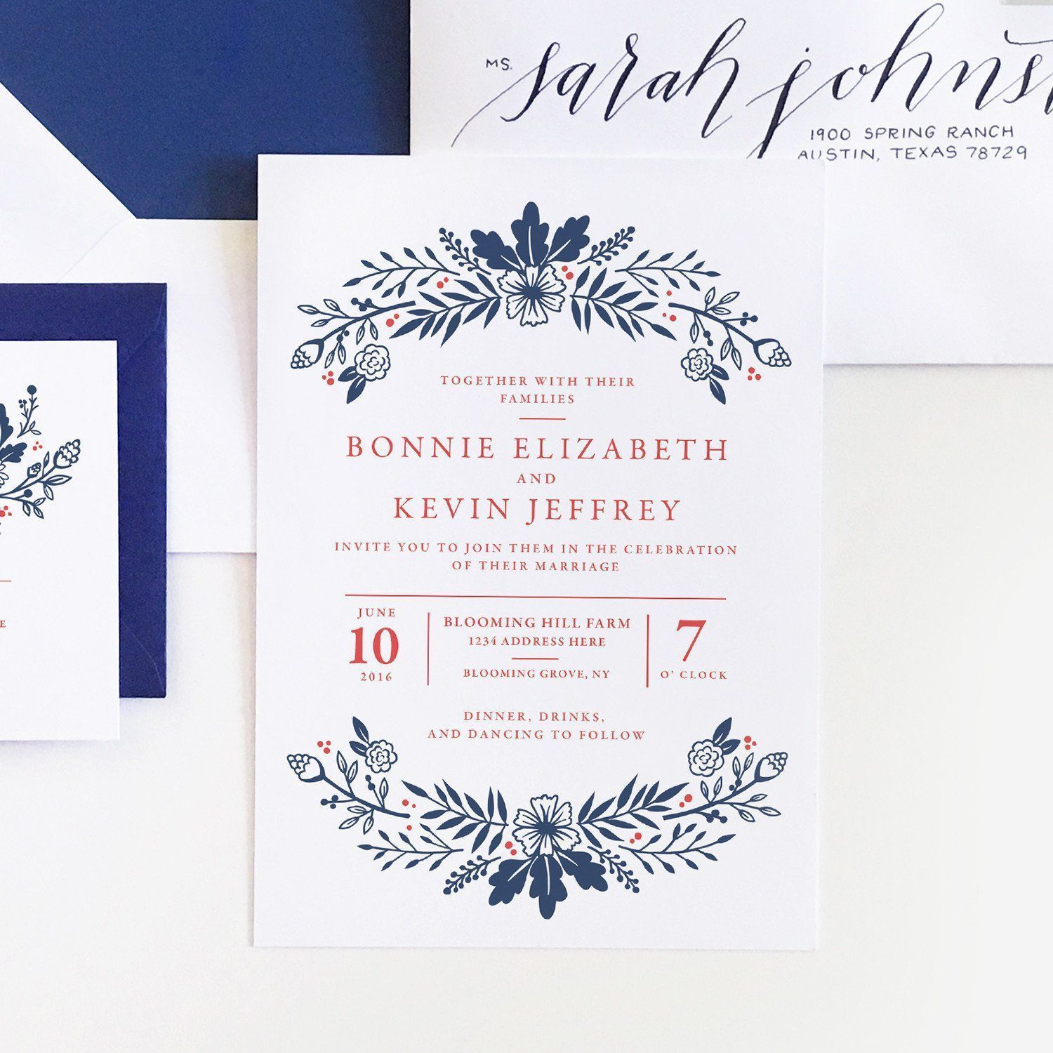 Audrey Collection - Wedding Invitations (Pack of 25) | Weddings ...