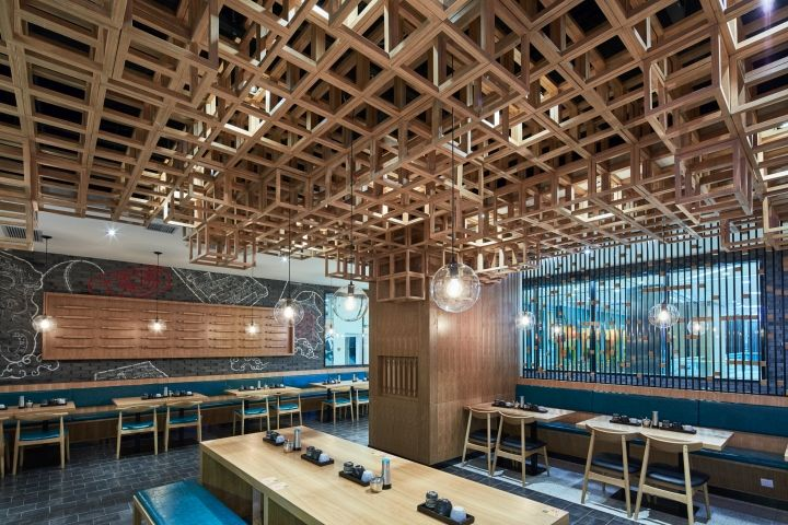 Dacongu0027s Noodle House By The Swimming Pool Studio, Shanghai U2013 China »  Retail Design Blog