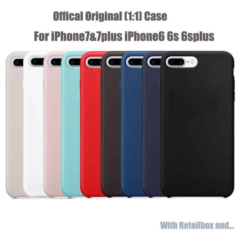 custodia in silicone iphone 7 plus originale