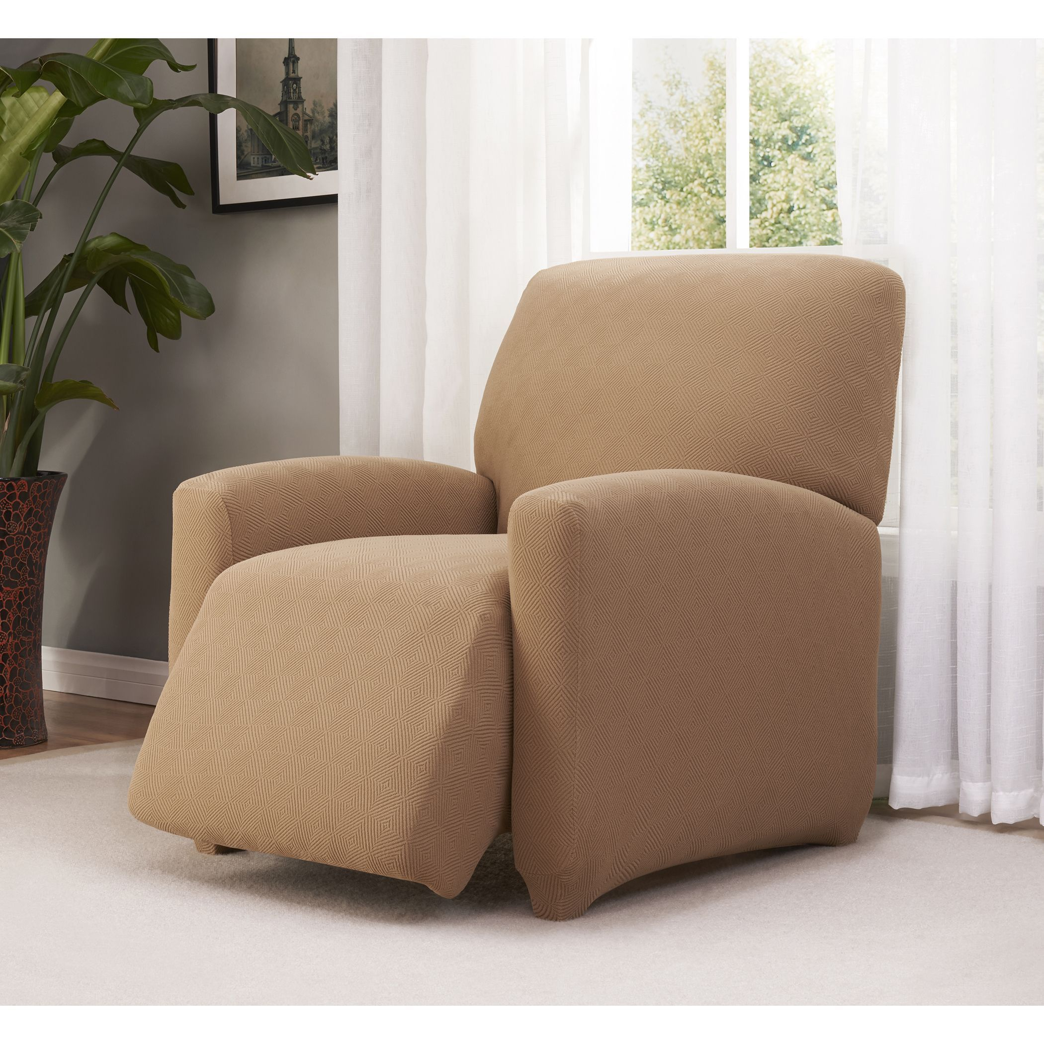 slipcover stretch jersey recliners pinterest large pin for products recliner slipcovers