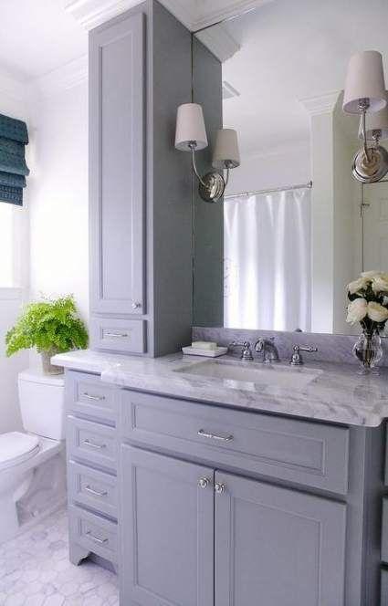34 trendy bath room small gray toilets  bathroom vanity