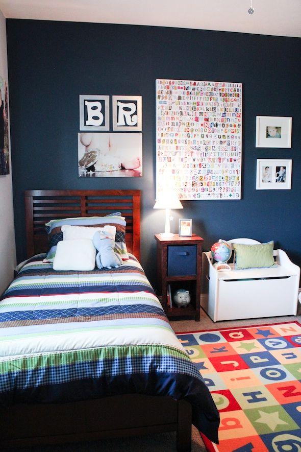 Big Boy Room Reveal Big Boy Room Boys Room Blue Boy Room