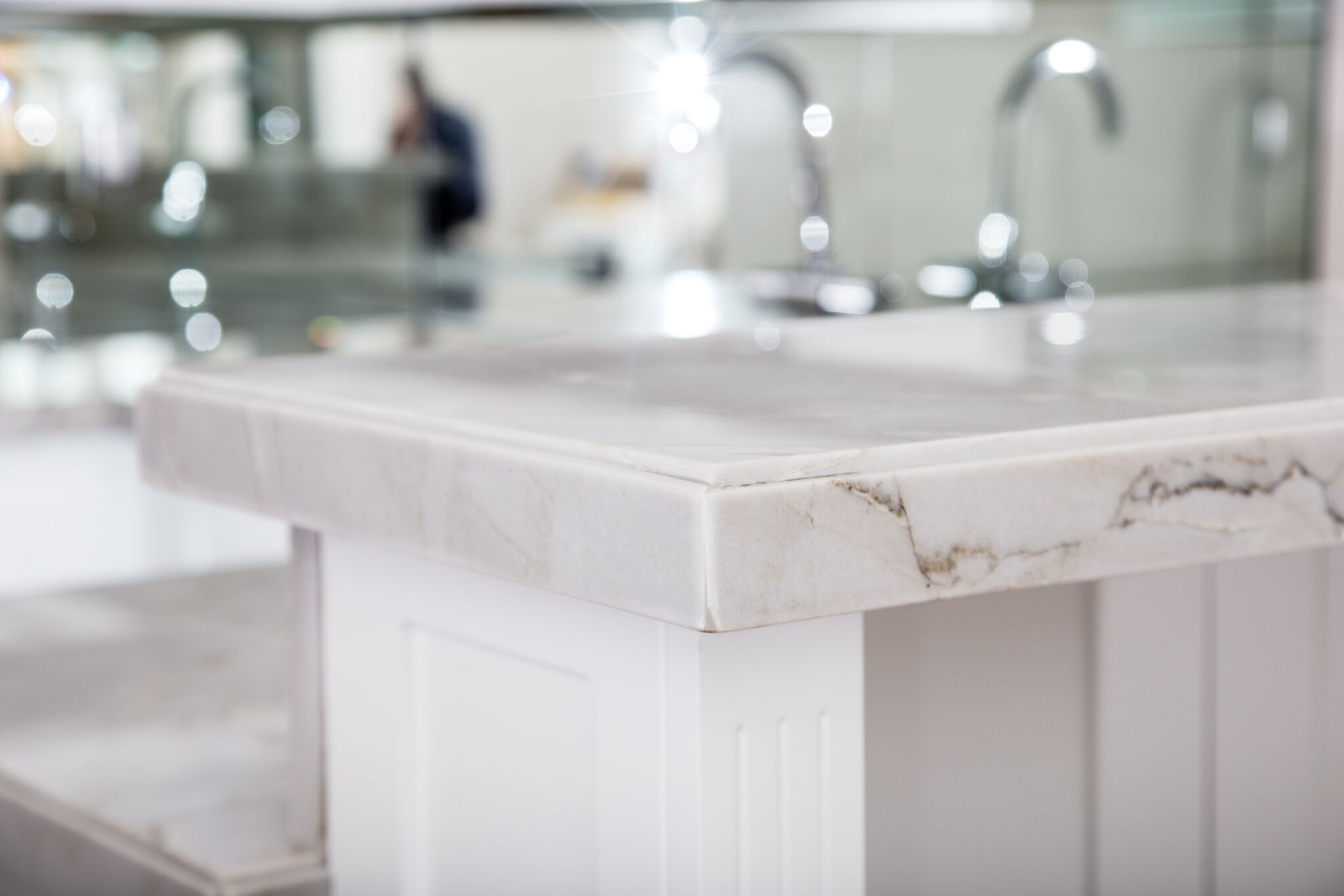 Quirk Miter Mitered Countertops Marble Countertops
