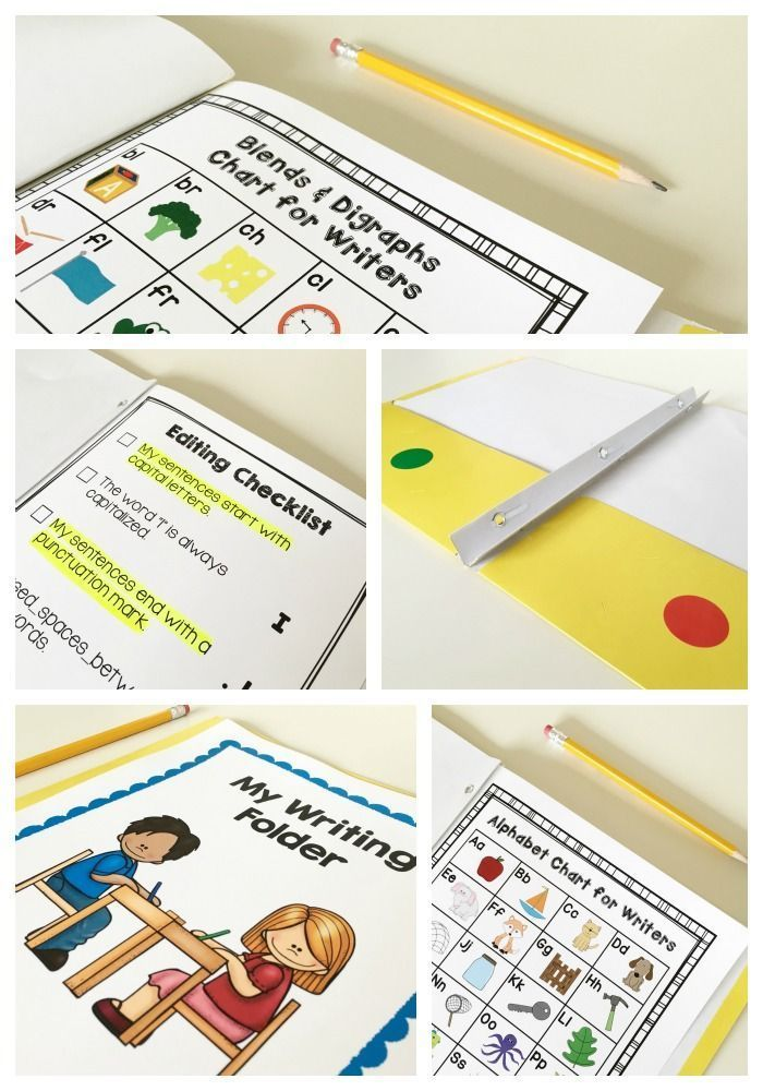 How To Build Writing Folders That Support Independent Writing ...