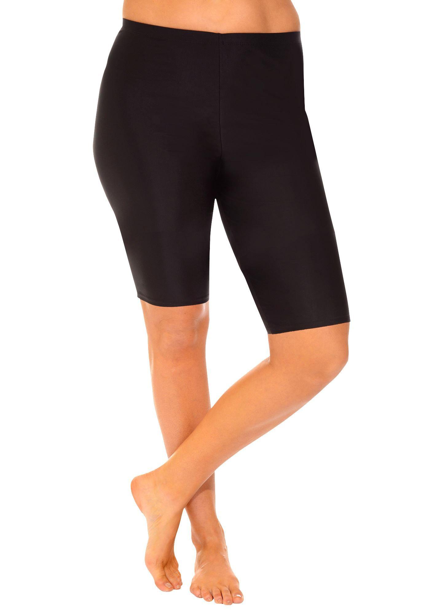 028ef738d629c Plus Size Aquabelle Extended Length Bike Short | Clothing | Women's ...