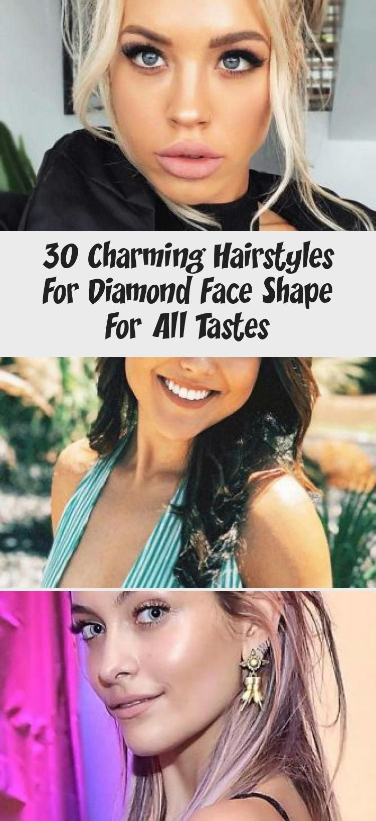 30 charming hairstyles for diamond face shape for all