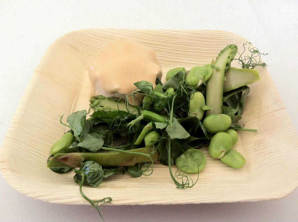 Russells of Broadway - Westlands Micro Leaf Tendril Peas dish
