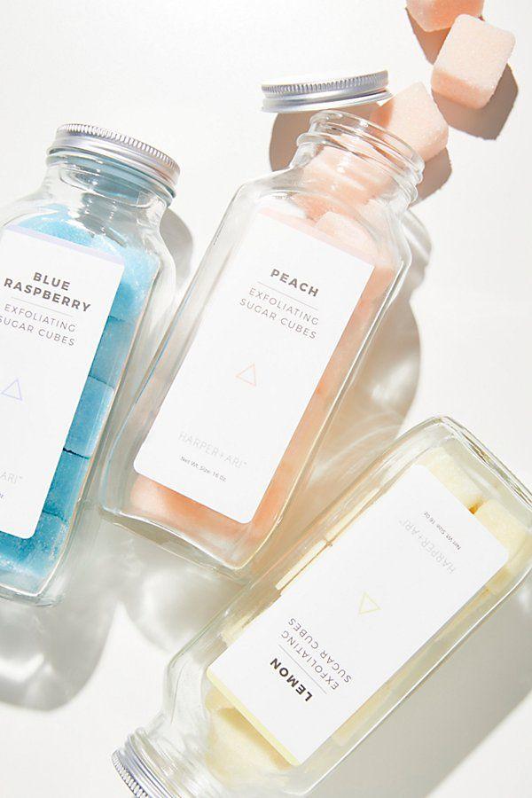 Harper + Ari Exfoliating Sugar Cubes Skin care, Homemade