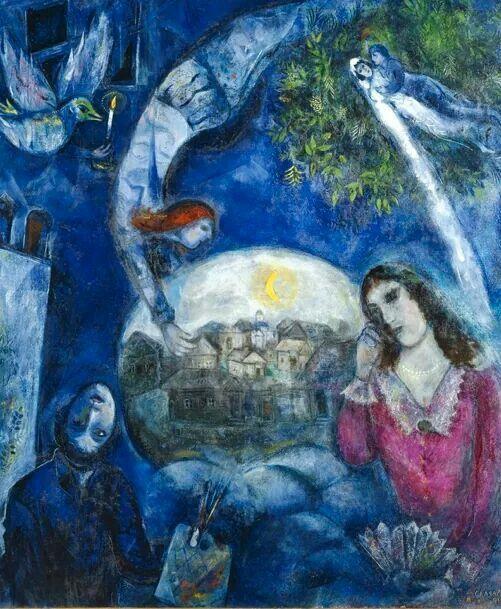 Chagall - Around her