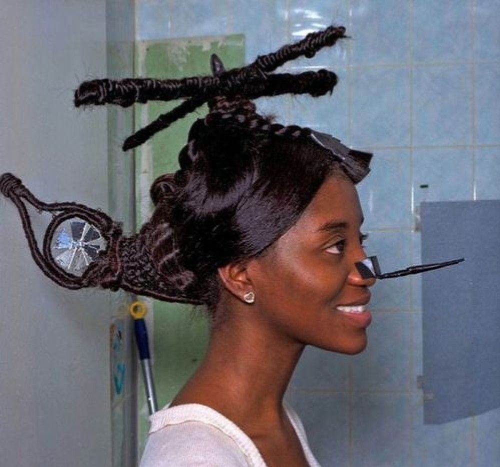 7 Of The Weirdest Hair Styles Ever Believe Me Most Of These Will Absolutely Shock You Weird Haircuts Hair Humor Wacky Hair