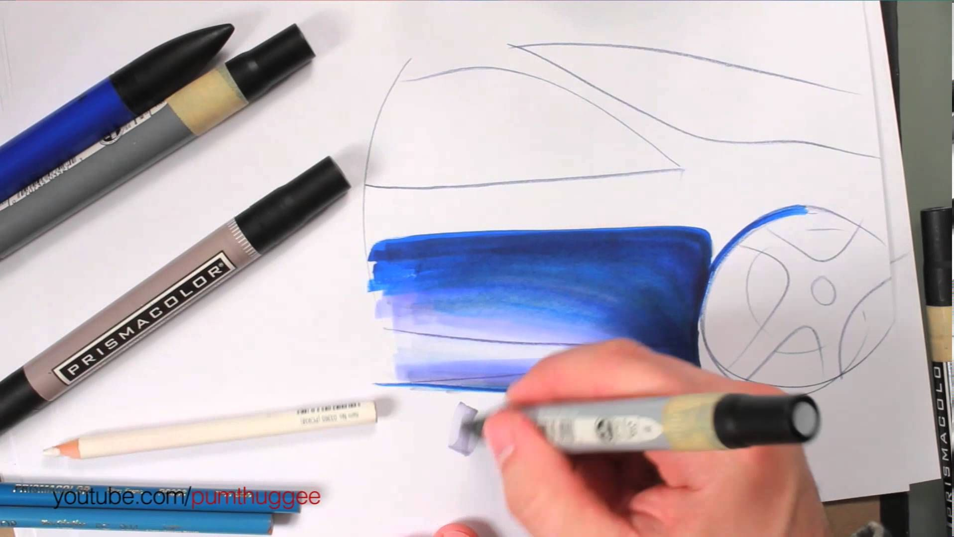 Drawing Cars Color Depth Grays And Tones Color Depth Color Drawings