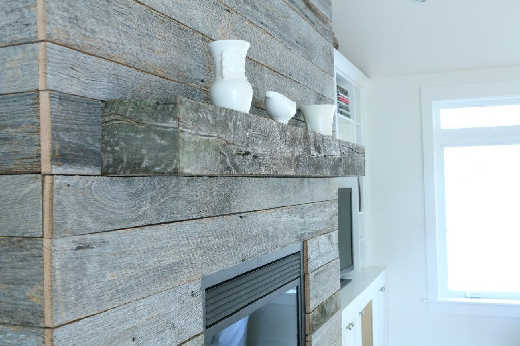 Reclaimed barnwood accents. Barnwood Naturals in Salem, OR