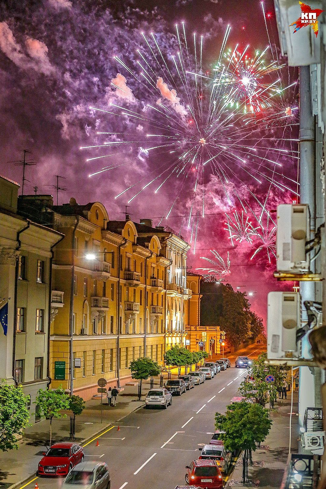На Карла Маркса в Минске есть жилой дом со световым ...