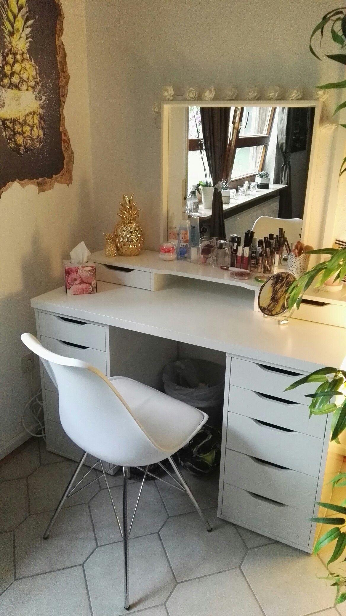 IKEA ALEX Kommode mit Schubladen Schubladenelement 36x70cm weiß NEU