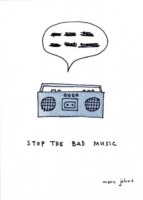 Stop the bad music - Original