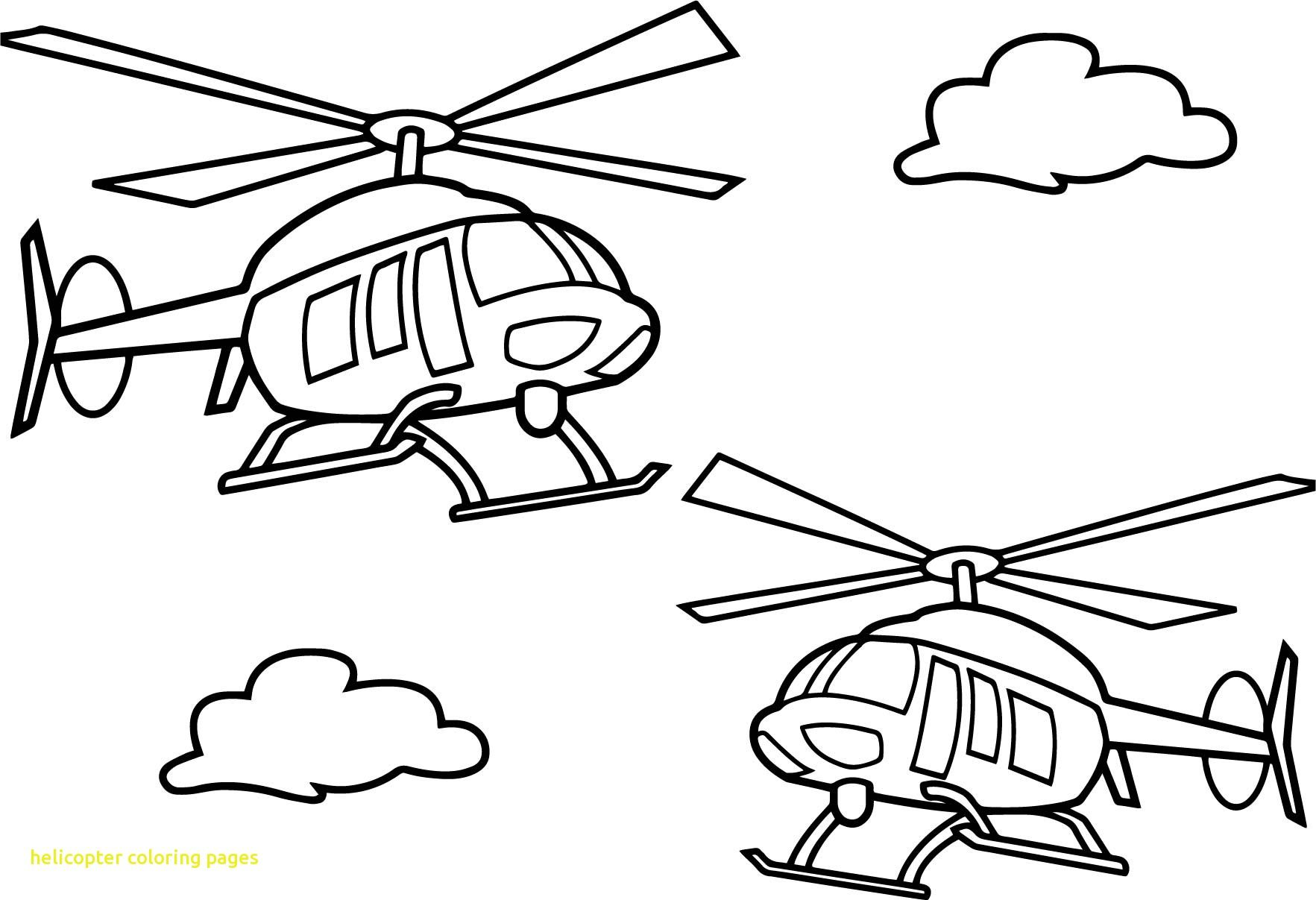 Air Transport Colouring Pages Coloring Pages Helicopter