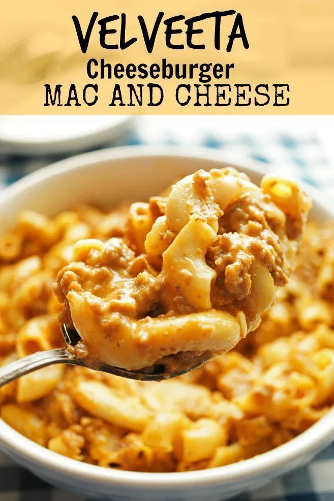 Velveeta Shells Cheese Cheeseburger Mac Get A Leg Up On Dinner Thanks To This Chee In 2020 Mac And Cheese Homemade Taco Mac And Cheese Cheeseburger Mac And Cheese