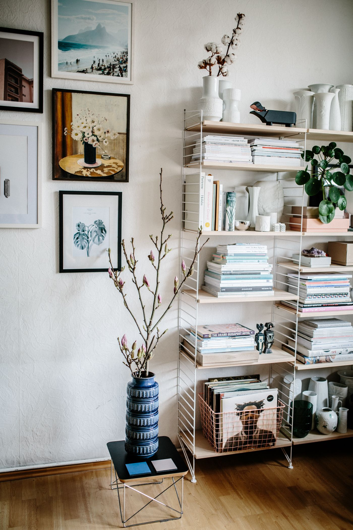 String Regal Pinterest How To Decorate Your Shelved By Herz Und Blut Shelvesdecor
