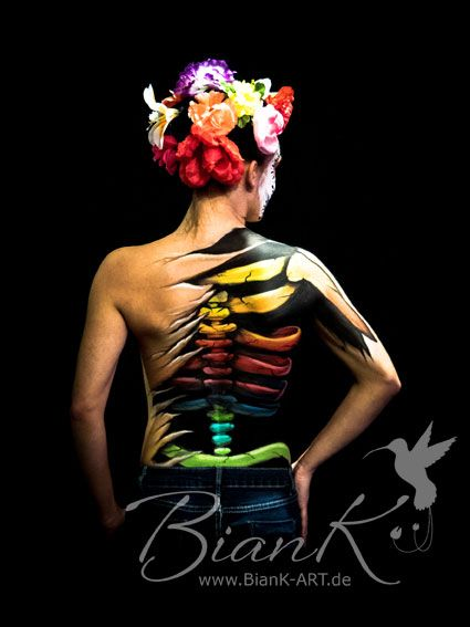 #bodypainting #body #painting #color #farbe