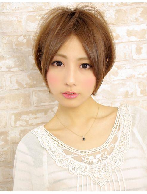 アフロートジャパン(AFLOAT JAPAN)AFLOAT銀座【伊輪宣幸】前髪長めのセンターパートで大人かわいく