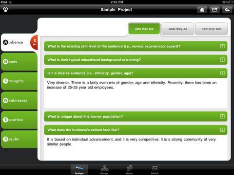 DesignJot - app for instructional designers