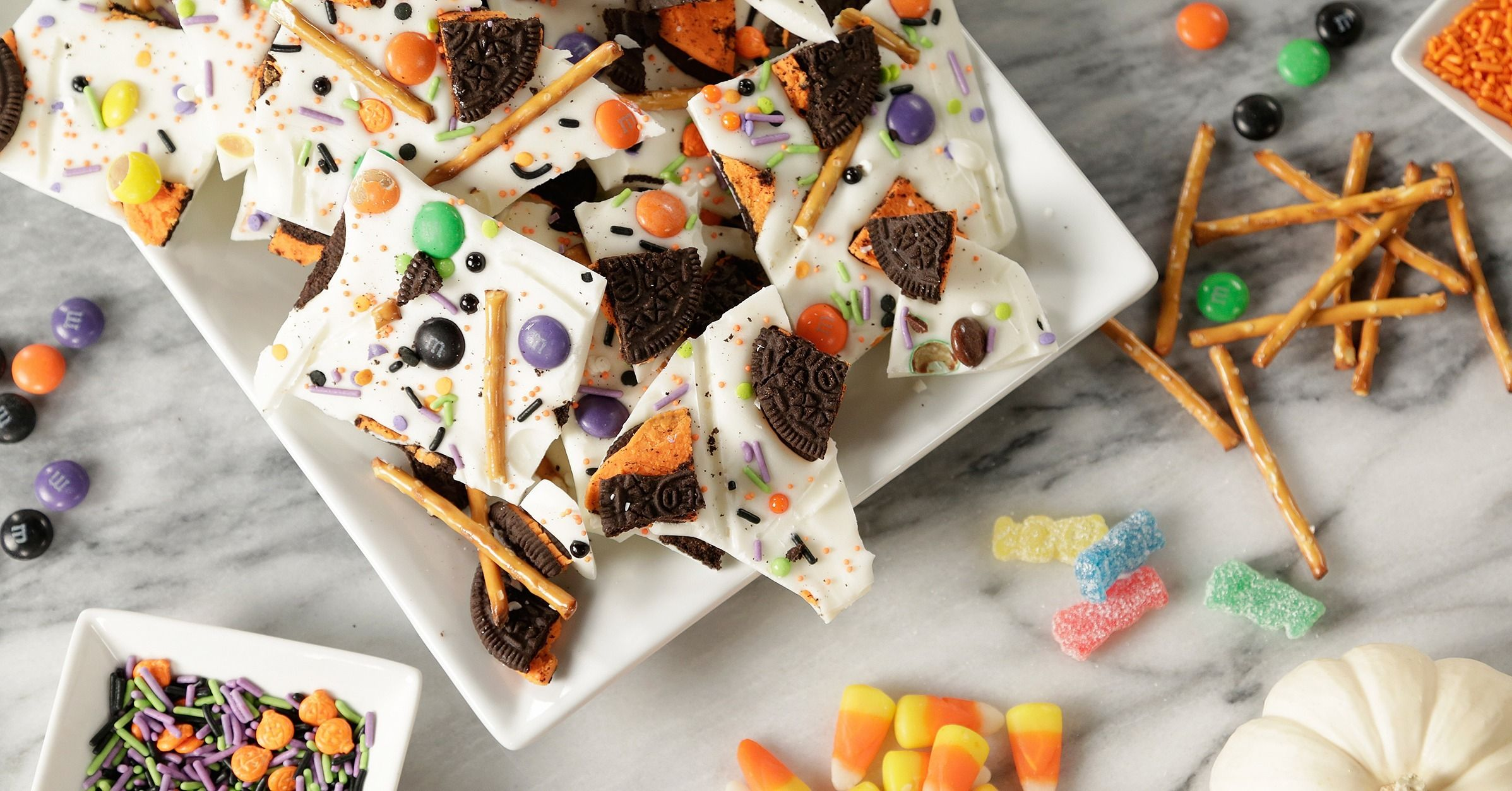 Halloween Chocolate Bark Recipe Candies Halloween