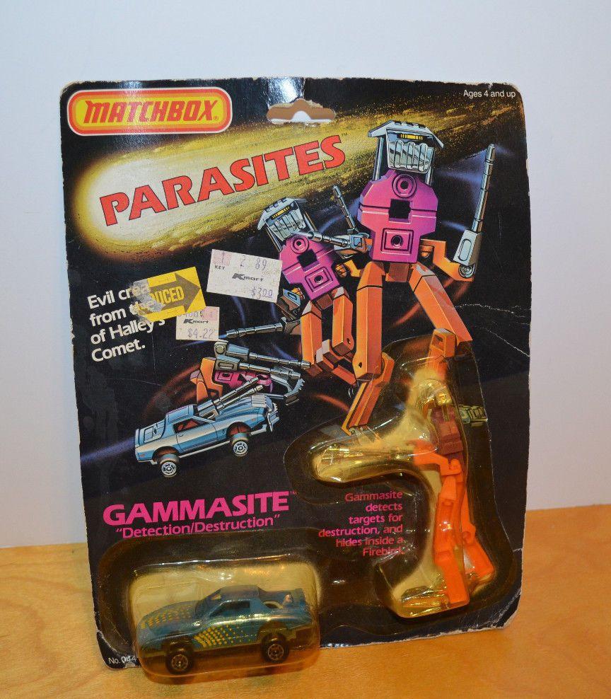 VINTAGE MATCHBOX PARASITES GAMMASITE DIECAST TOY CAR