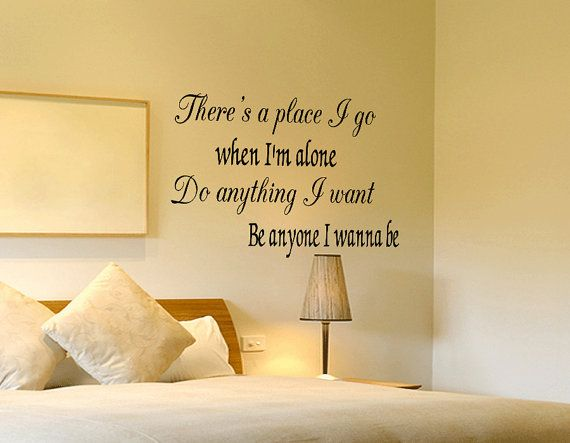 Dream Catch Me Newton Faulkner Vinyl Wall Art Sticker - Large Lyrics ...