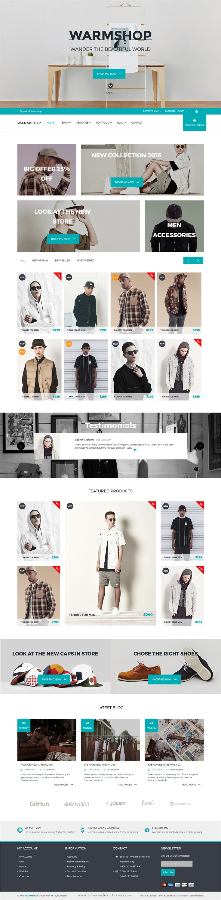 Warmshop Minimal e-Commerce Html Template | Minimal and eCommerce