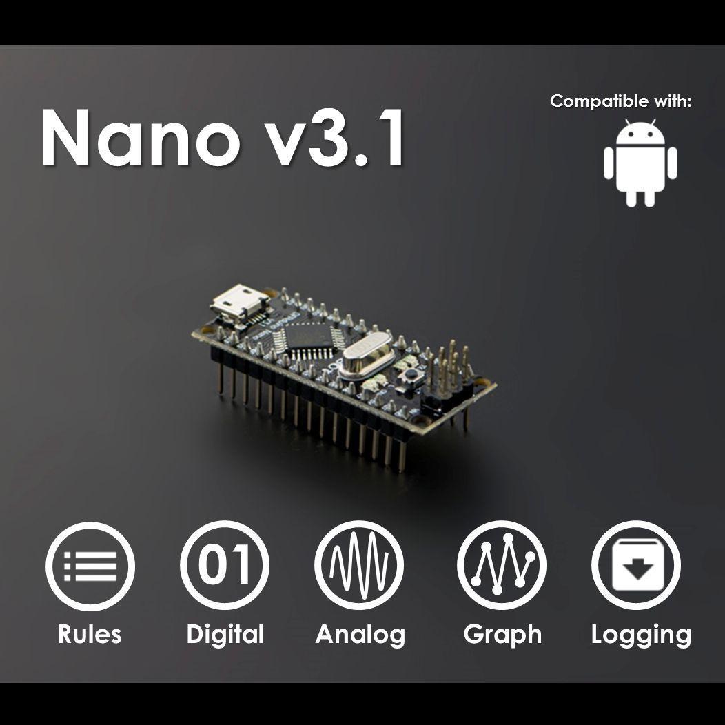 DFRduino Nano V3.1(Arduino Nano Compatible)Small