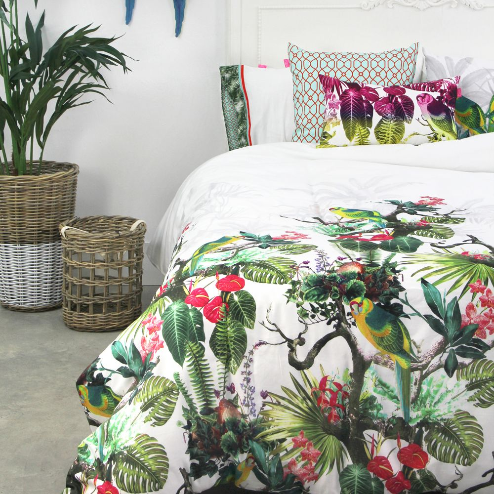 Happy Friday Bettwäsche Happy Friday Good Night Duvet Covers Tropic Home Sweet