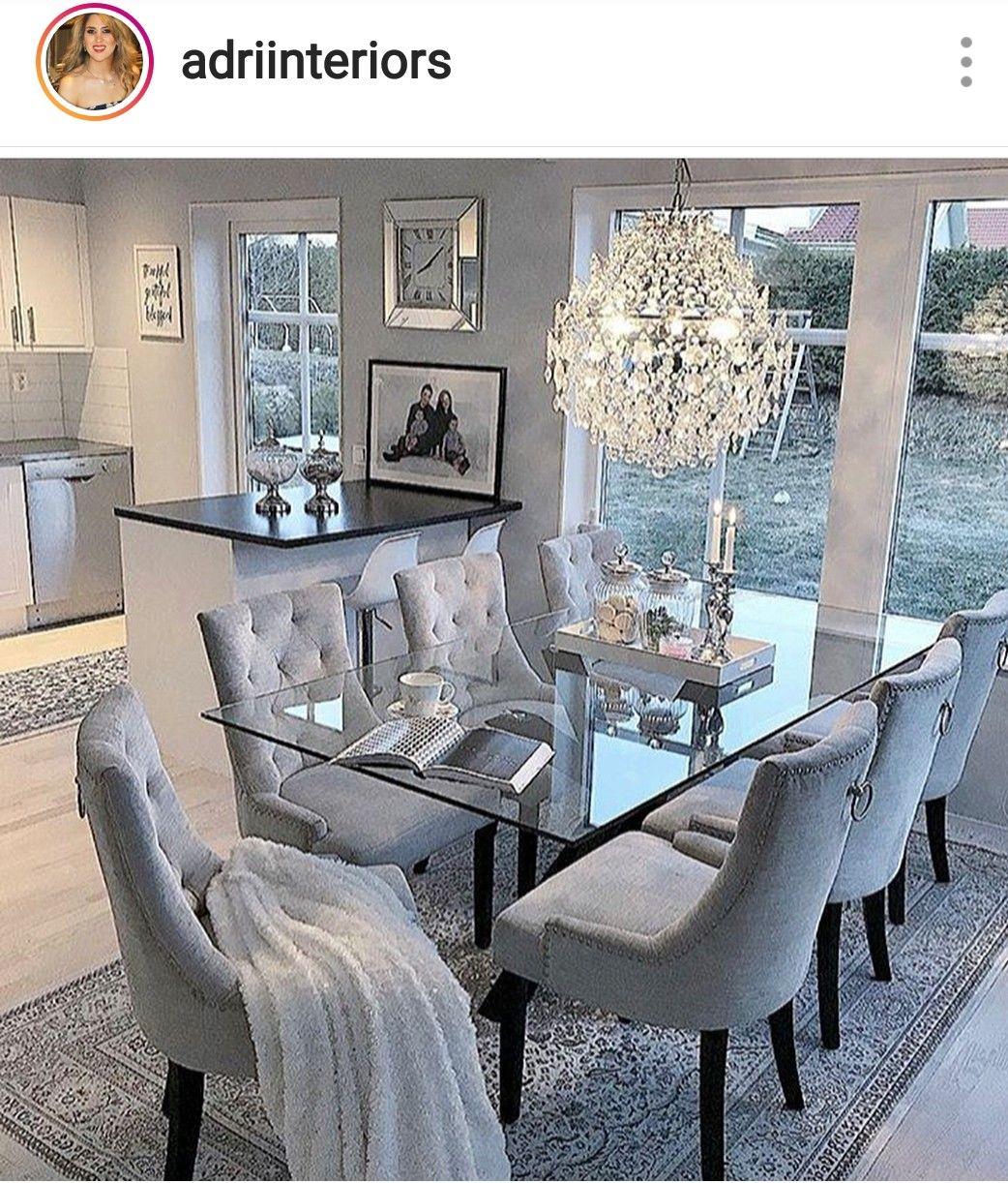 Home Interior Goals Home Decor Elegant Dining Room Dining