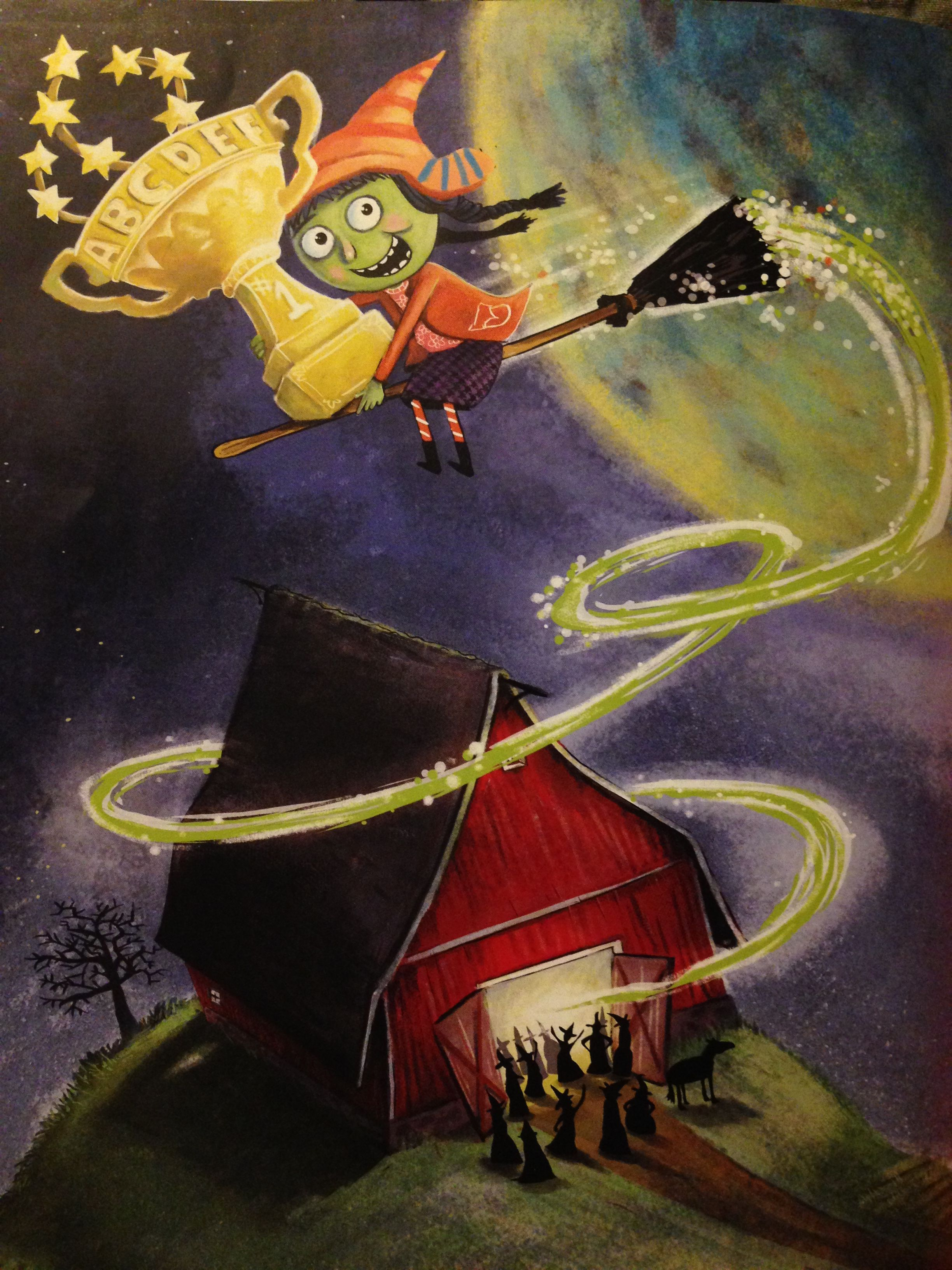 A Very Witchy Spelling Bee by George Shannon, Illustrated by Mark Fearing