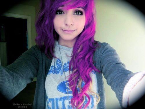 Cheveux Rose Fushia Cheveux De Couleur Pinterest Hair Dyed