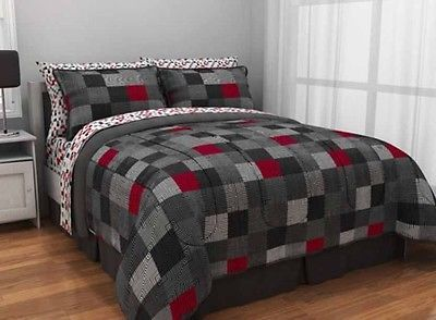 Priceabate Minecraft Bed In A Bag Comforter Set Twin Xl Dorm Full Queen Bedding Sheets This Item Now For Only 61 99