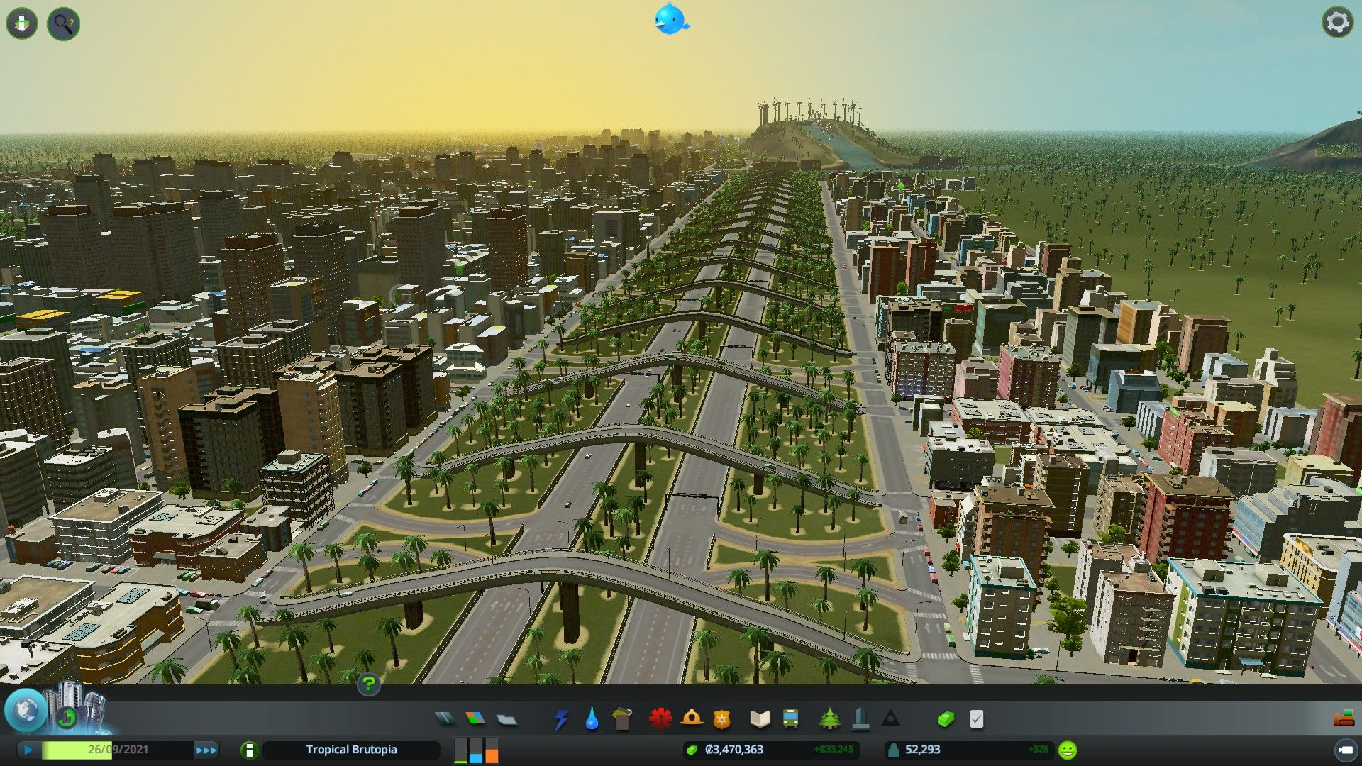 Screenshothighway City Connection Very Functional And Looks Good City Layout City City Skylines Game