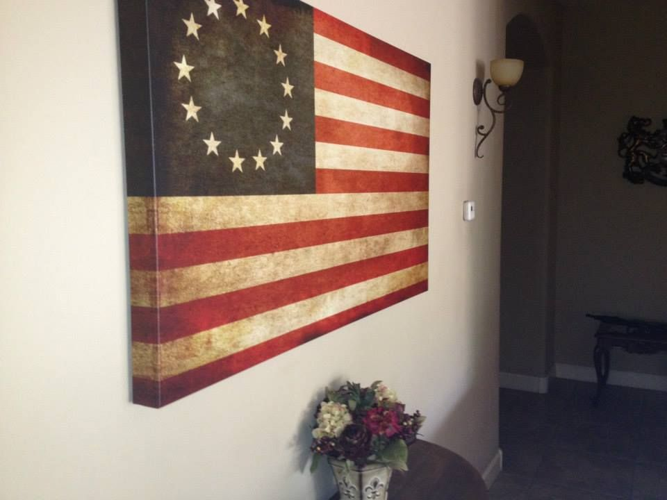 AR-15 hidden behind american flag | \'Merica | Pinterest