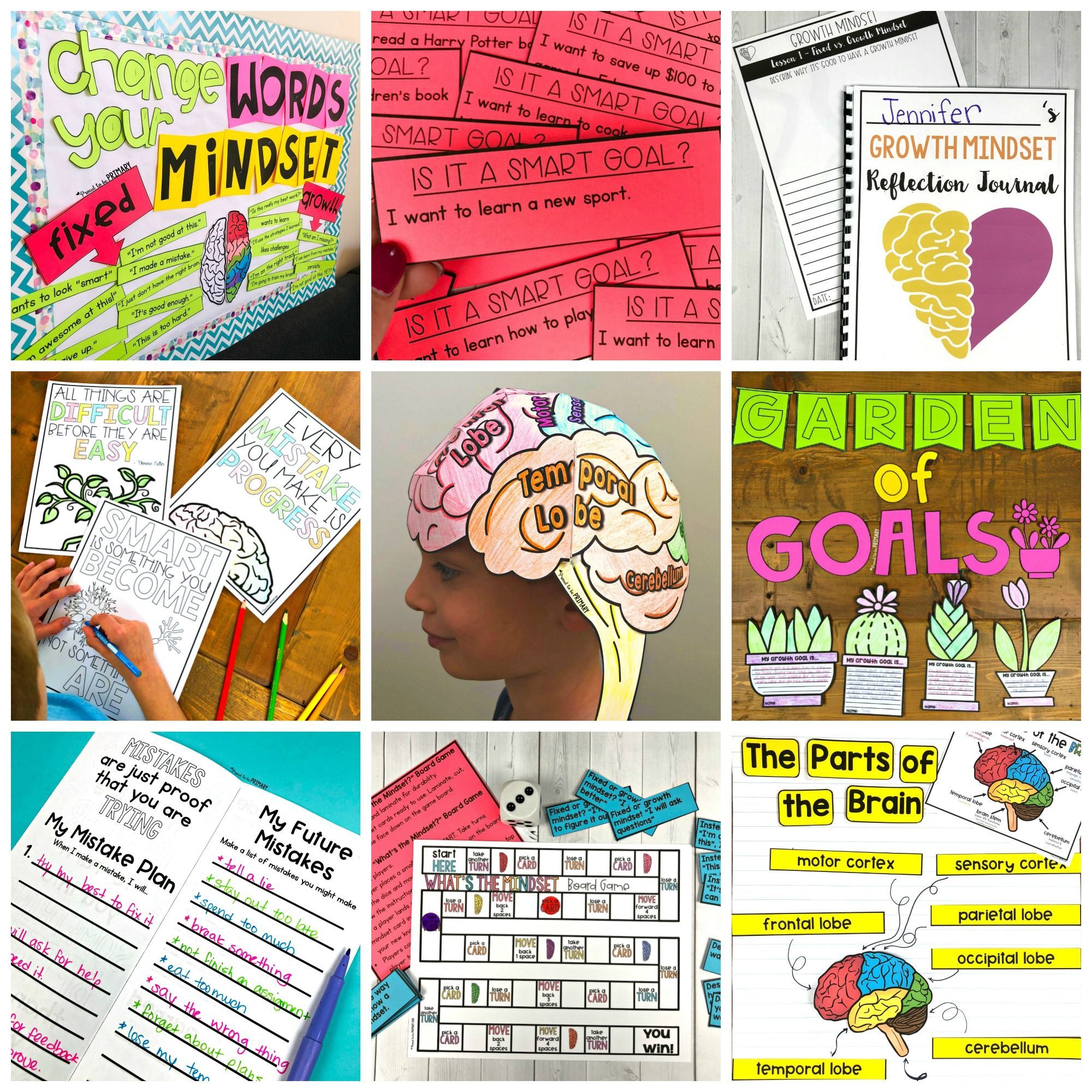 Growth Mindset Activities For Elementary Students