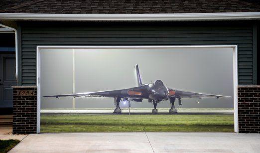 Robot Check Garage Doors Door Murals Garage Door Decor