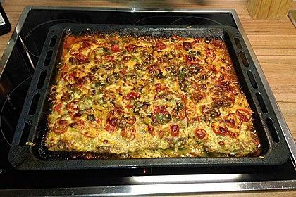 Hackfleischpizza ohne Teig, ein beliebtes Rezept aus der Kategorie Party. Bewertungen: 133. Durchschnitt: Ø 4,2.