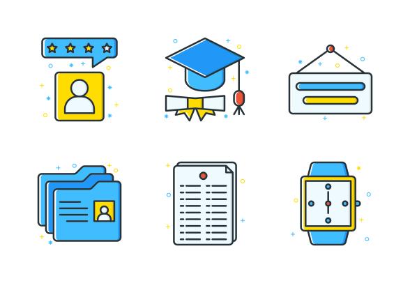 Job Seeker Icons By Inipagi Free Icons Job Seeker Icon