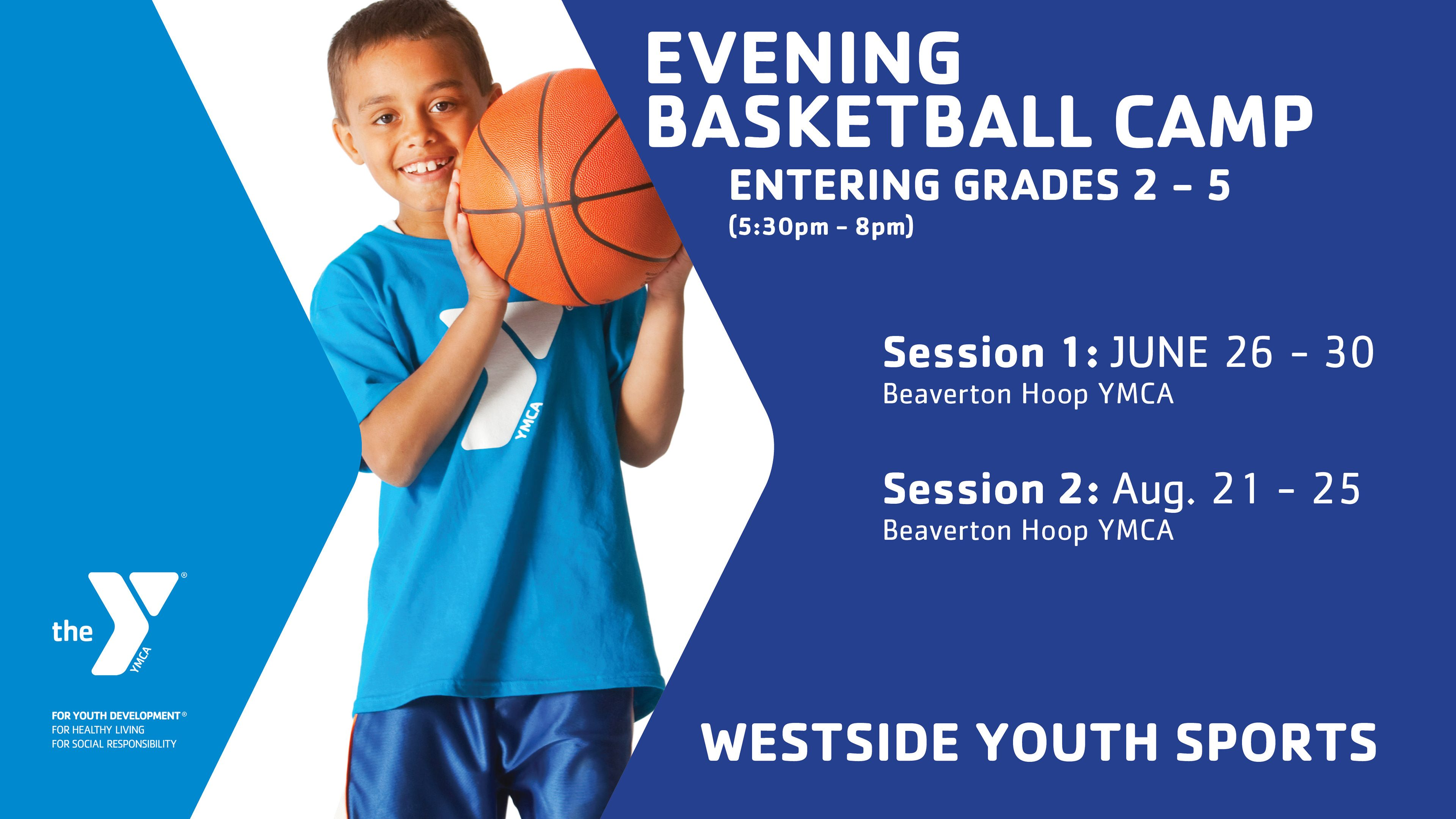 2017 Ymca Of Columbia Willamette Beaverton Hoop Ymca Offers A Variety Of Sports And Enrichments Camps Through The Westside Ymca Youth Sports Marketing Poster