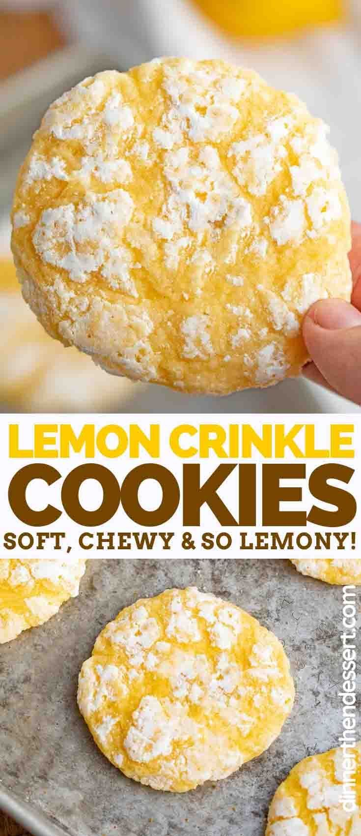Lemon Cookies flavored with fresh lemon juice and lemon zest are soft, sweet, and PERFECT for makin