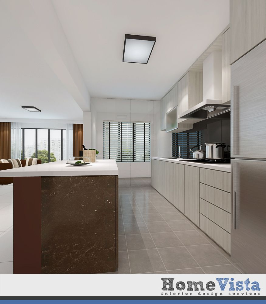 Kitchen Cabinets Singapore: Open Concept Kitchen